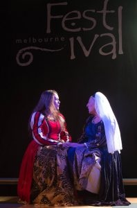 Bringing professional arts performances to towns and villages throughout Derbyshire. Image courtesy of Melbourne Festival