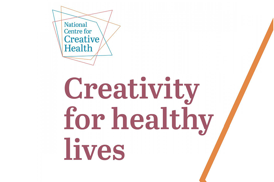 ARTICLE - Creativity for healthy lives graphic.