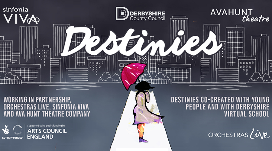 Destinies Artwork - Posted by Ava Hunt Theatre.