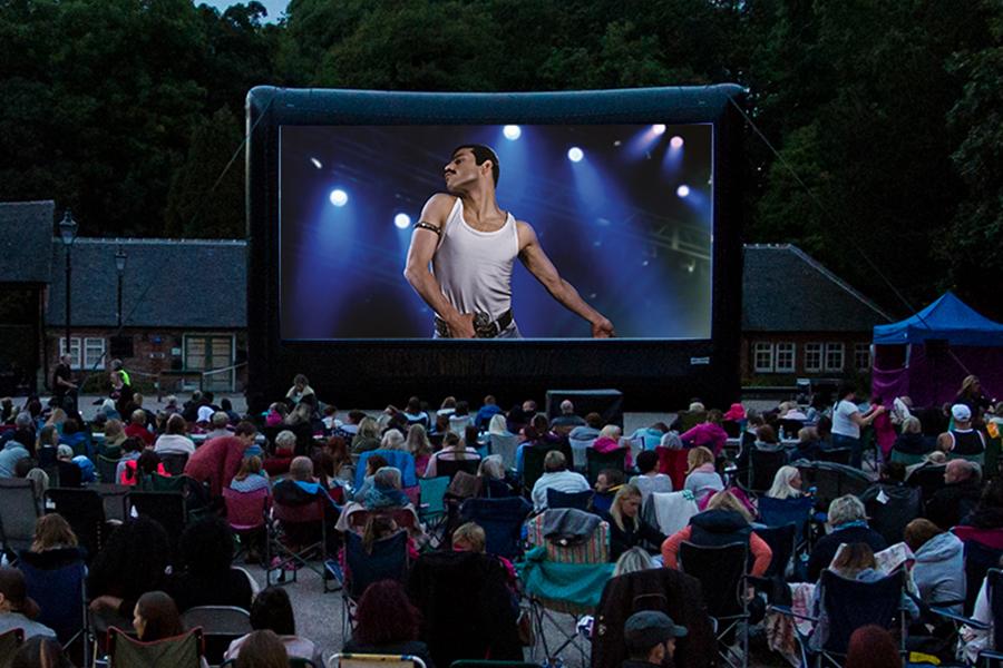 Markeaton Park Outdoor Cinema.
