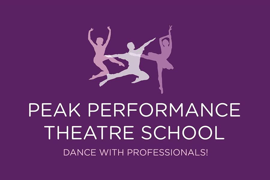 Peak Performance Theatre School Logo.