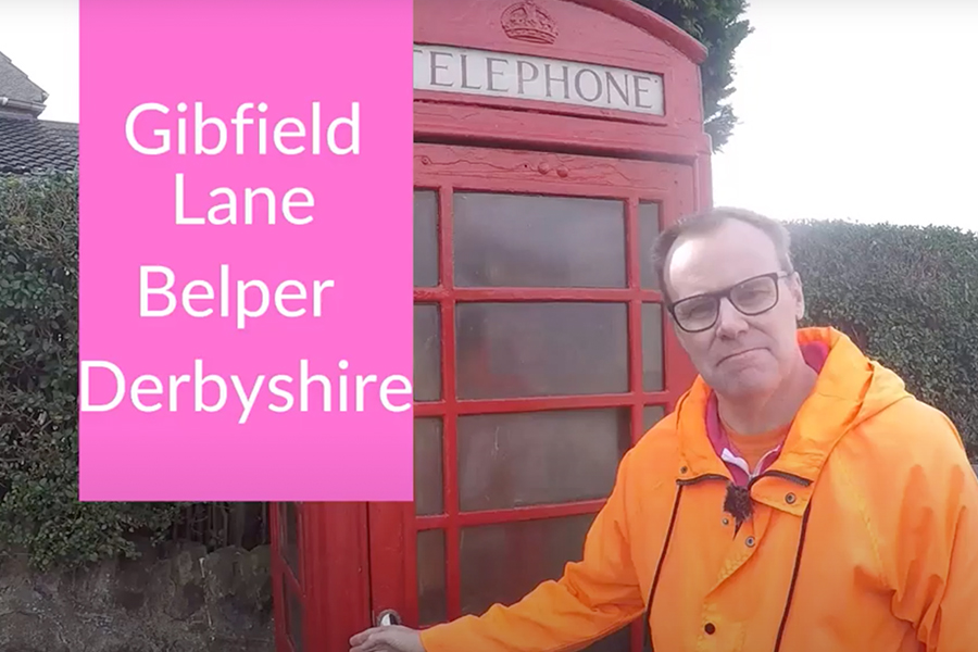 Rotherham based film crew head into Derbyshire looking for the conversation
