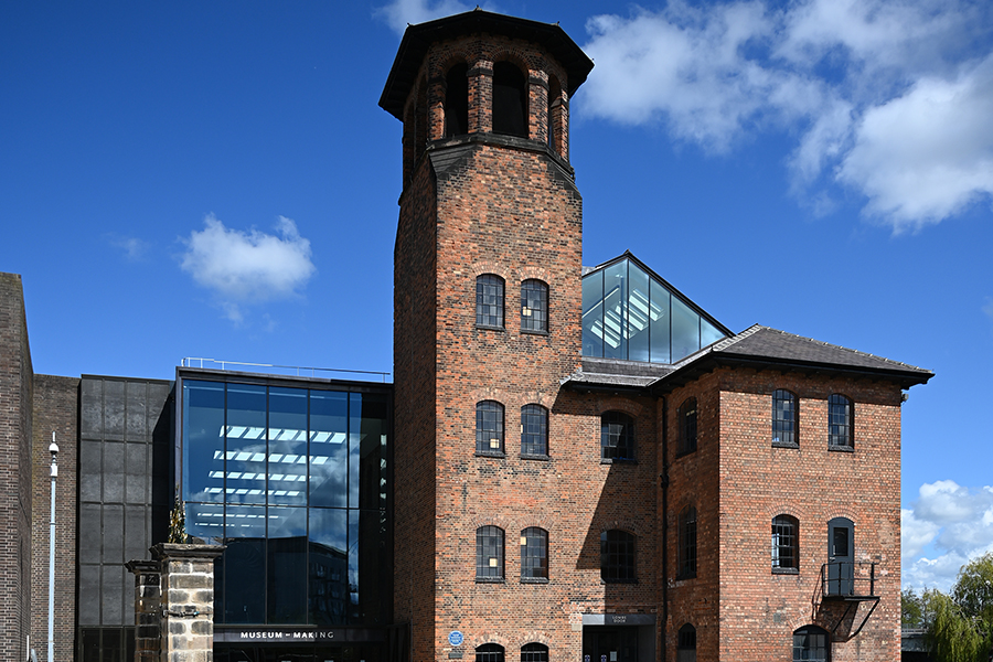 Brand new Museum of Making in Derby opens for the first time