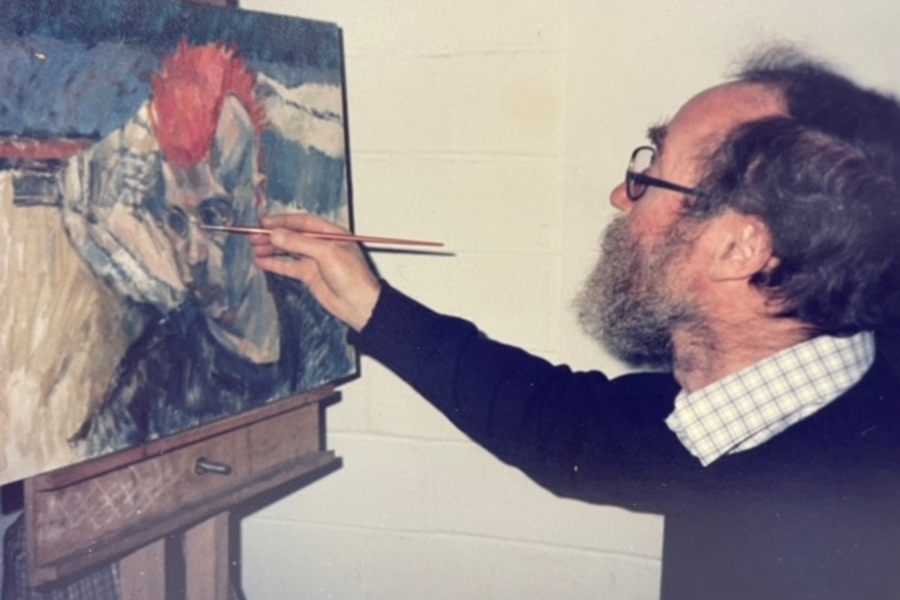 Portrait exhibition hopes to reunite paintings with the people featured in them