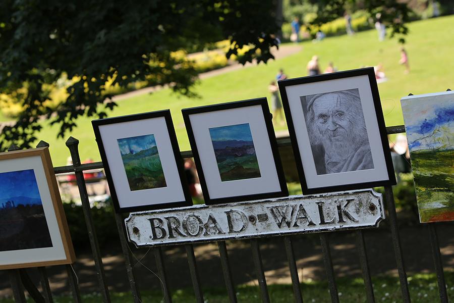 Buxton Art Trail takes to the boulevard!
