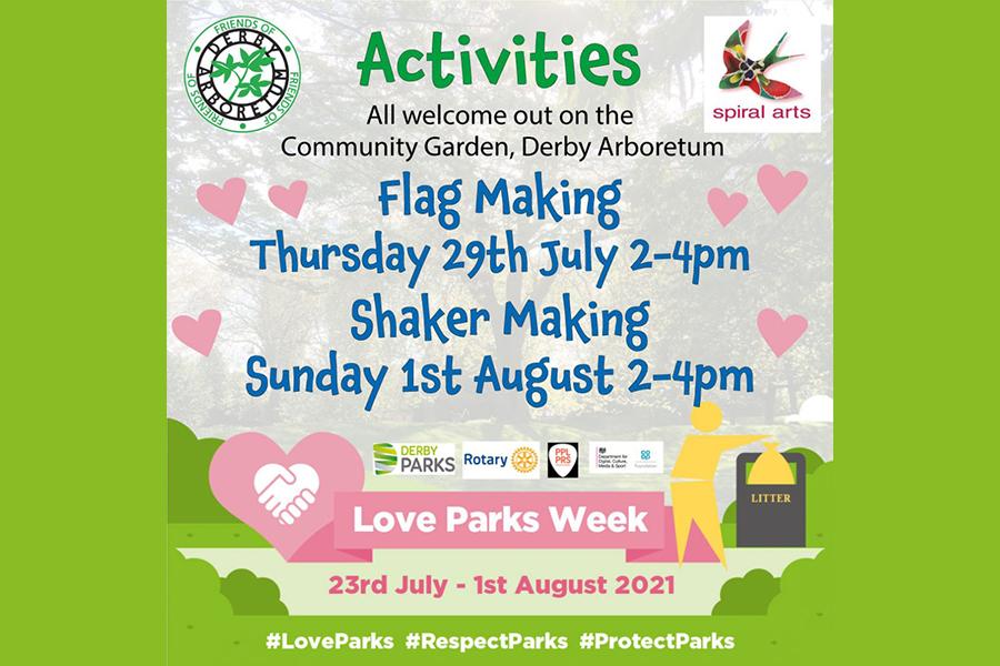 Spiral Arts: Love Parks Week