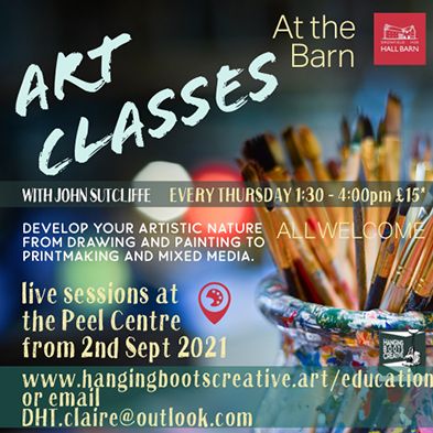 Art Classes with John Sutcliffe - Starting in September