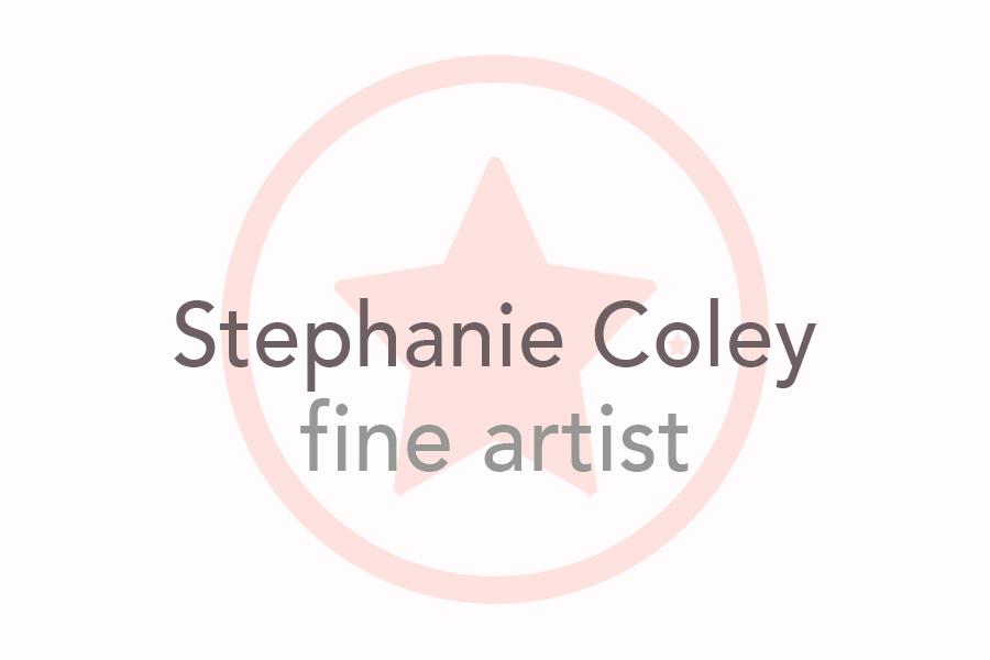 Fine Artist Newsletter from Stephanie Sian Coley