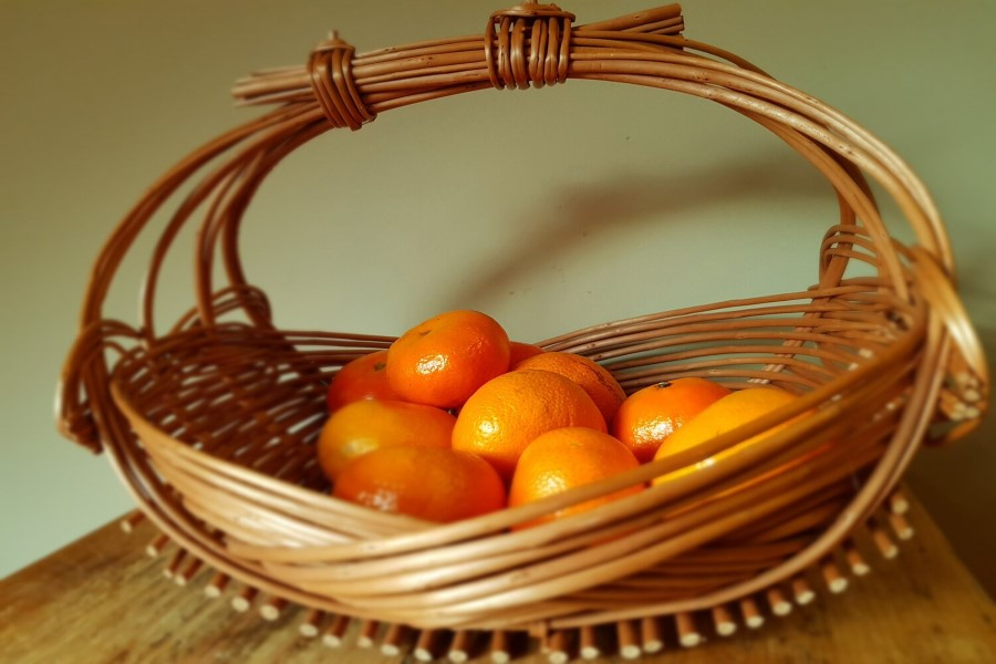 A basket weaving course with Karina from Whittle and Weave on 18th Sept