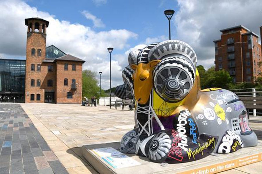 Derby Ram Trail Auction – last tickets on sale for the special price of £10!