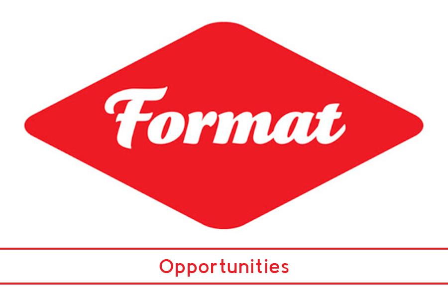 FORMAT News: Opportunities