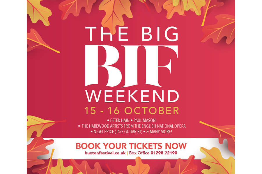 Get ready for The Big BIF Weekend this October!