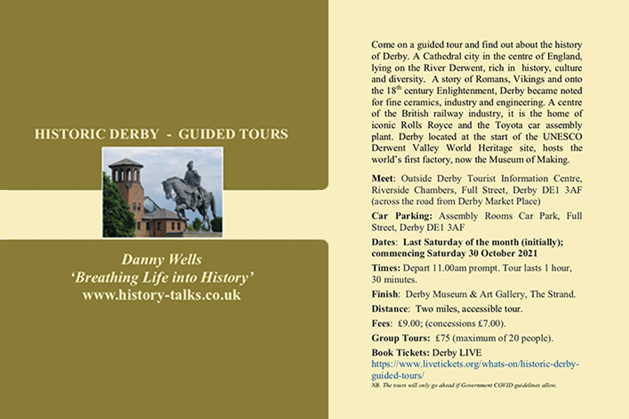 Breathing Life into History: Historic Tours of Derby