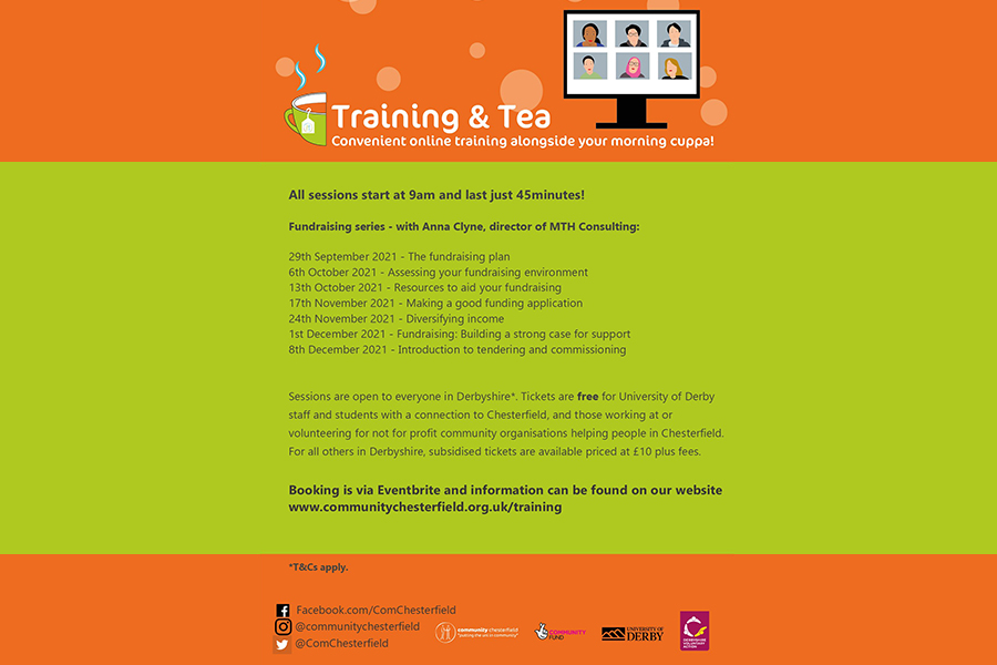 Community Chesterfield Training and Tea