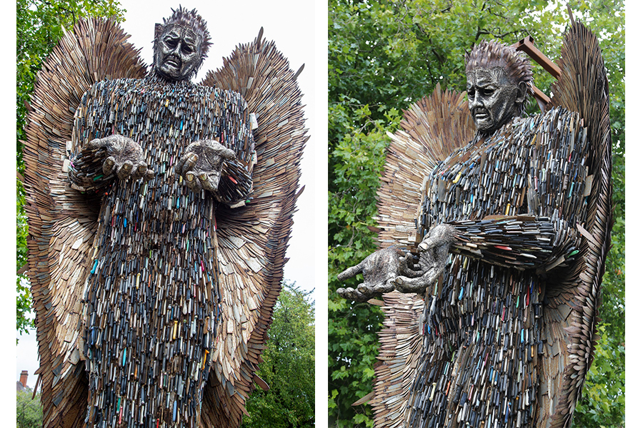 National Monument Against Violence and Aggression 'The Knife Angel' is to visit Chesterfield