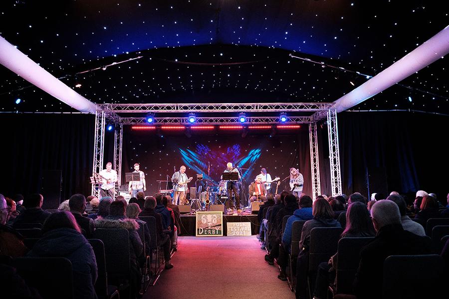 Sell out for Derby Folk Festival as live concerts make long awaited return